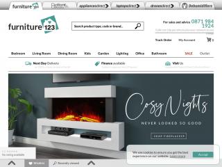 furniture123.co.uk screenshot