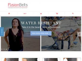 fusionbelts.com screenshot