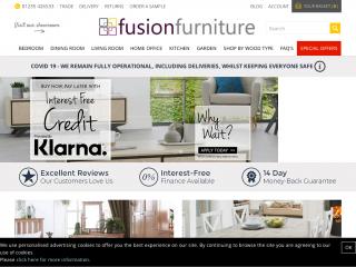 fusionfurniturestore.co.uk screenshot