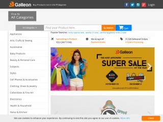 galleon.ph screenshot