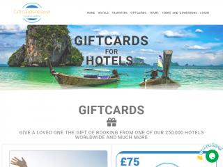 giftcards4travel.co.uk screenshot