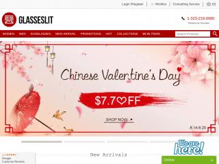 glasseslit.com screenshot