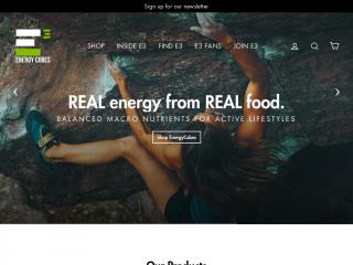 goenergyfoods.com screenshot
