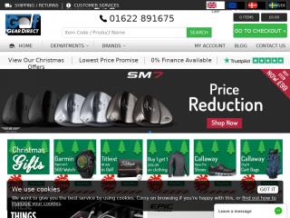 golfgeardirect.co.uk screenshot