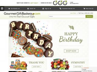 gourmetgiftbaskets.com screenshot