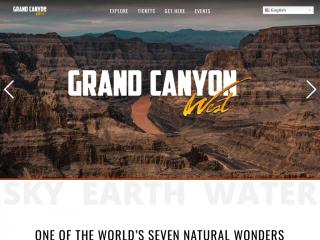 grandcanyonwest.com screenshot