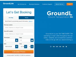 groundlink.com screenshot