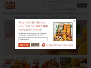 halegroves.com screenshot