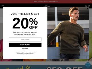 hallensteins.com screenshot