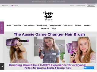 happyhairbrush.com.au