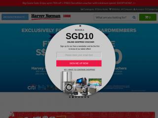 harveynorman.com.sg screenshot