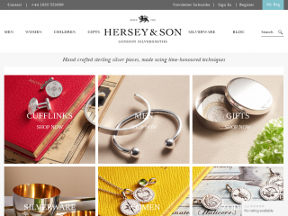 hersey.co.uk screenshot