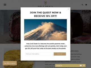 holygrailsteak.com screenshot