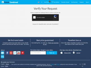 hotelscombined.com screenshot