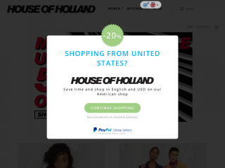 houseofholland.co.uk screenshot
