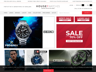 houseofwatches.co.uk screenshot