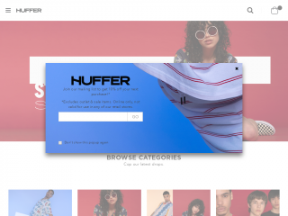 huffer.co.nz screenshot