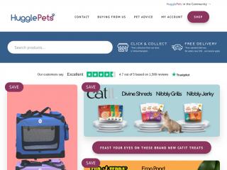 hugglepets.co.uk screenshot