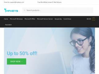 impkeys.com screenshot