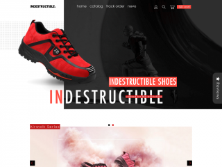 indestructibleshoes.com screenshot