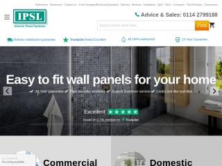 interiorpanelsystems.co.uk screenshot