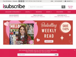 isubscribe.co.uk screenshot