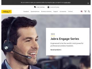 jabra.com screenshot