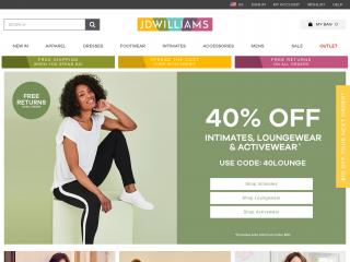 jdwilliams.com screenshot