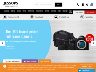 jessops.com screenshot