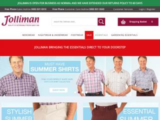 jolliman.co.uk screenshot