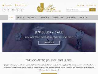 jollysjewellers.com screenshot