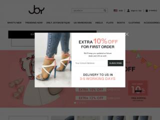 joyshoetique.com screenshot