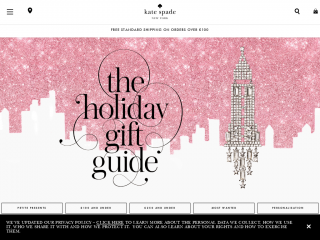 katespade.co.uk screenshot
