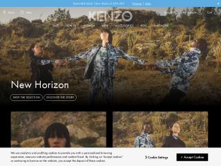 kenzo.com screenshot