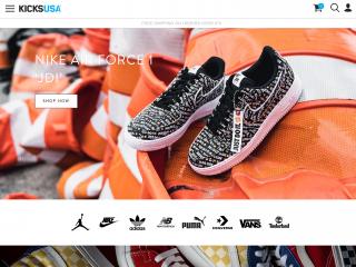 kicksusa.com screenshot