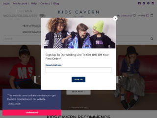 kidscavern.co.uk