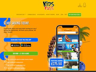 kidspass.co.uk screenshot
