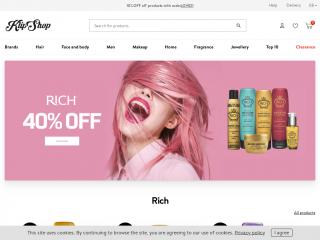 klipshop.co.uk screenshot