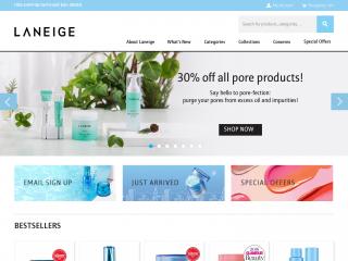 laneige.com screenshot