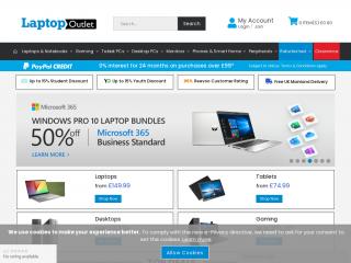 laptopoutlet.co.uk screenshot