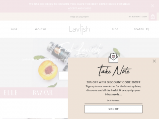 laviish.com screenshot
