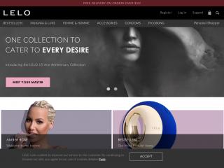 lelo.com screenshot