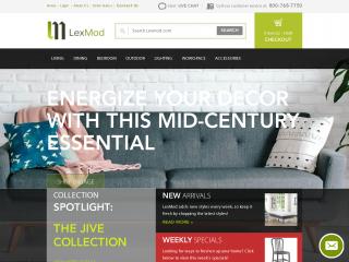 lexmod.com screenshot
