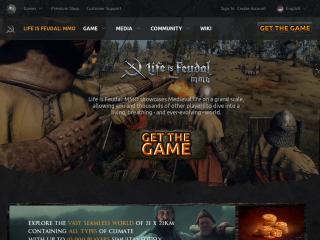 lifeisfeudal.com screenshot