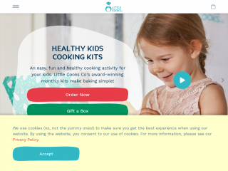 littlecooksco.co.uk screenshot