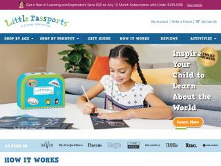 littlepassports.com screenshot