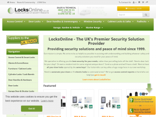 locksonline.co.uk screenshot