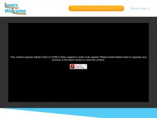 loserswelcome.com screenshot