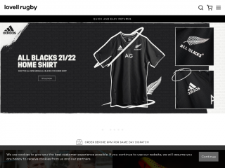 lovell-rugby.co.uk screenshot