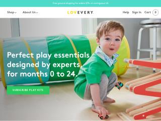 lovevery.com screenshot